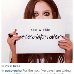 Coco Rocha's clever initiative with Sass and Bide
